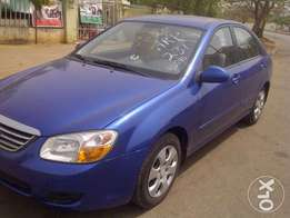 """LAGOS Cleared 2009 KIA Spectra LX up for a lucky buyer!"