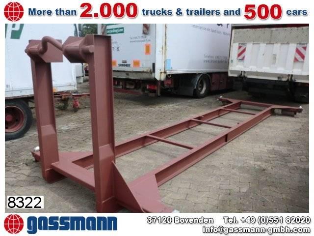 Abrollcontainer Rahmen - 2019