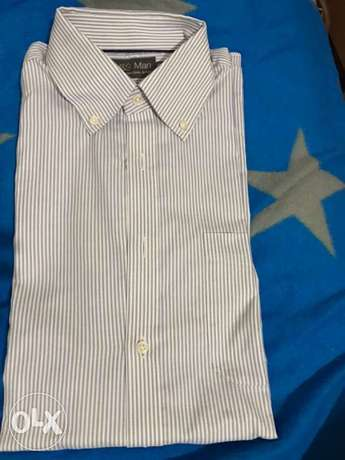 markes and spencer blue formal shirt size 15,5