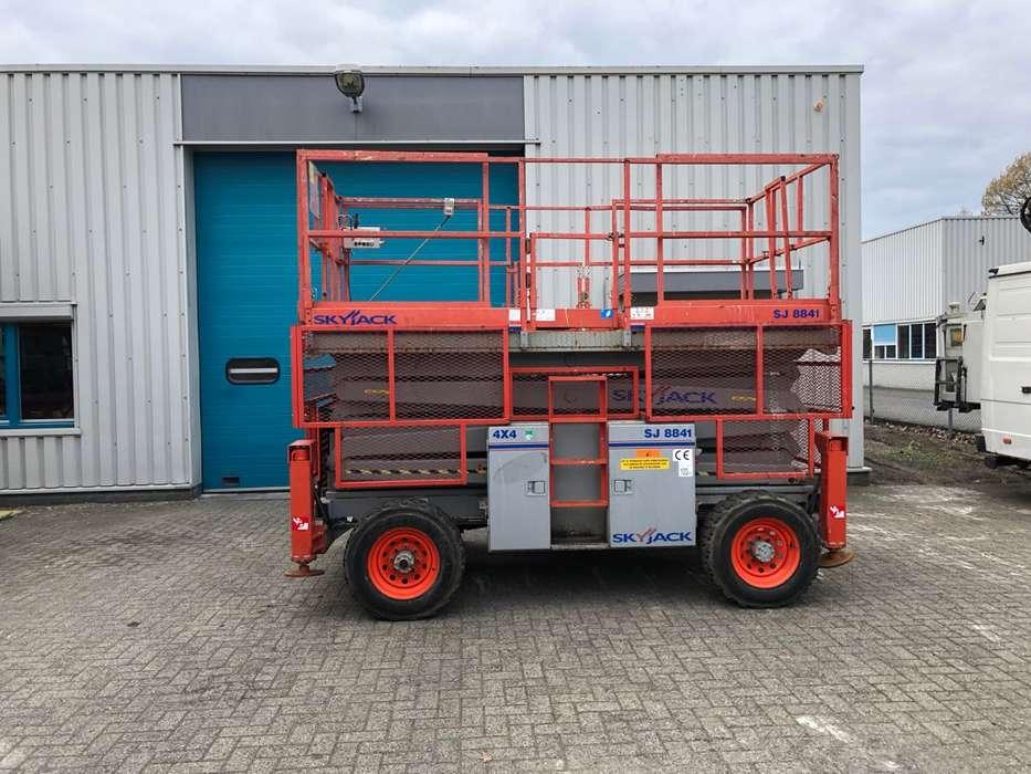 Skyjack SJ8841RT, Schaar hoogwerker 14,5 m. 4x4 - 2009