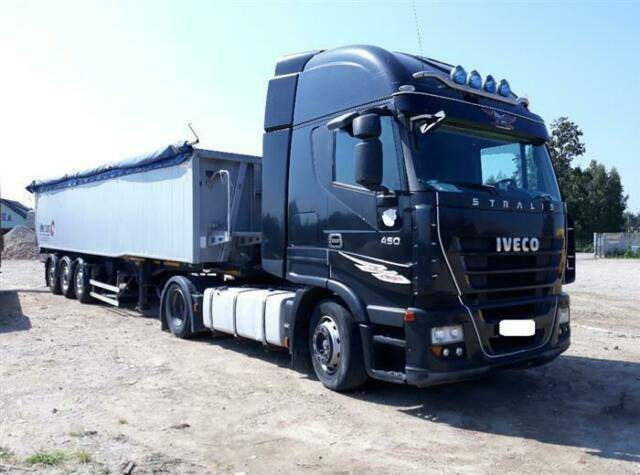 Iveco STRALIS 450 SOON EXPECTED 4X2 MANUAL EURO 5 - 2007