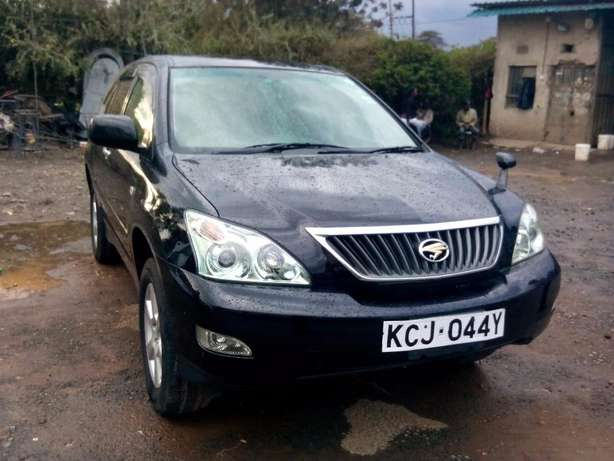 Black Toyota Harrier 2010 Hurlingham - image 2