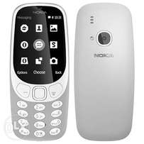 Nokia 3310 (Gray, White) 1 year warranty, Free Delivery