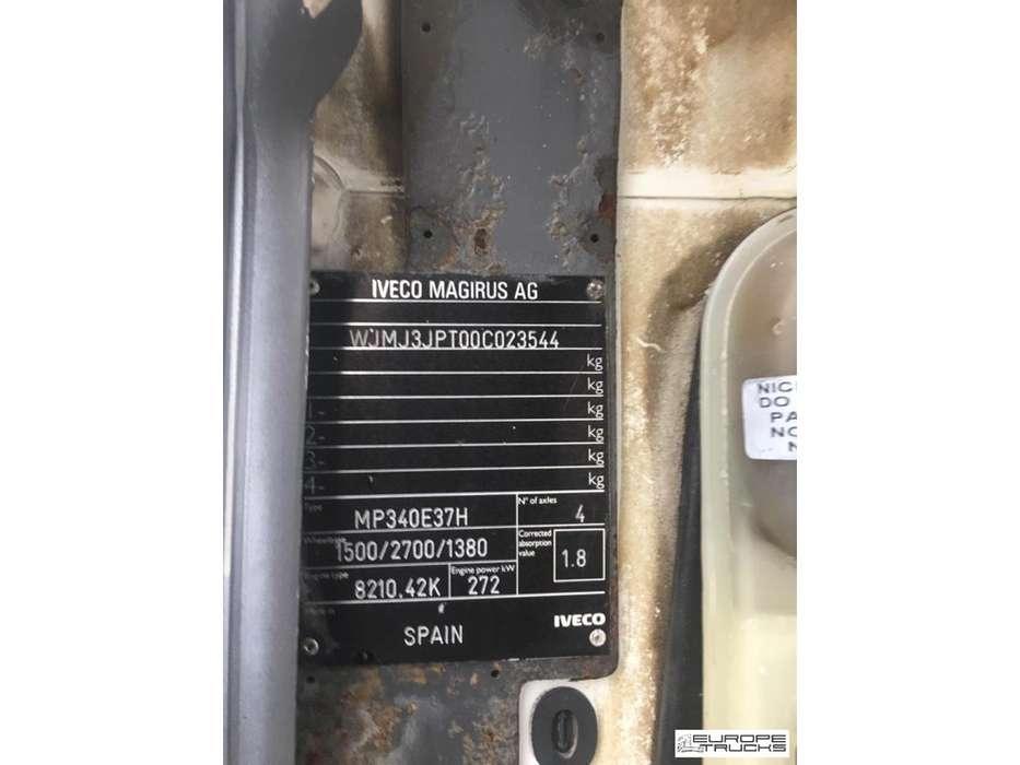 Iveco Eurotrakker MP340E37H Full Steel - Manual - Mech pump - 1996 - image 8