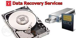 Data recovery services and data recovery software