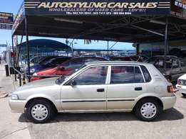 Autostyling Car Sales-East London-2006 Toyota Tazz 130 Facelift,immac