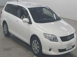 2009 Foreign Used White 2009 Toyota, Fielder Petrol For Sale - KSh1.25