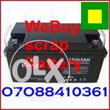 Sell your dead inverter batteries here abuja Lokogoma - image 1