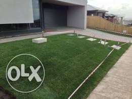 Turfland instant lawn, topsoil and manure
