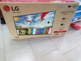 LG 43 smart web OS TV fresh in box