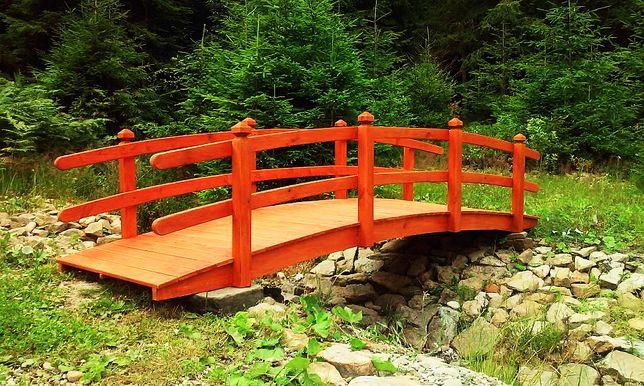 Mostek Ogrodowy Kładka Nad Oczko Wodne Koziegłowy Olxpl