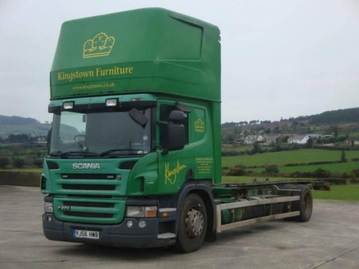 Scania P270 containertransporter - image 2