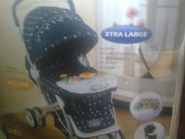 baby stroller and mother's cares
