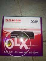 sonar free to air decorder at 2000