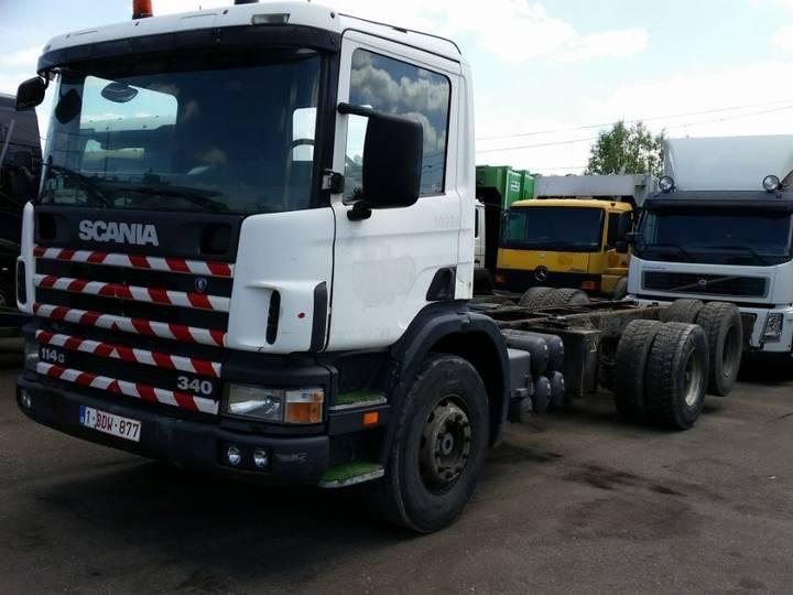 Scania 114 340 6x2 Bladgeveerd - 2001