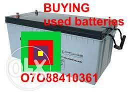 SELL your old Batteries in Lagos