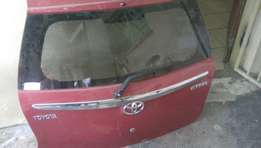 Toyota etios hatch back complete tailgate for sale...