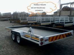 Monday sale on 5m car trailers.hook&go
