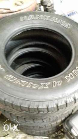 16 inch 245/70 4x4 At used tyres for sale Brakpan - image 1