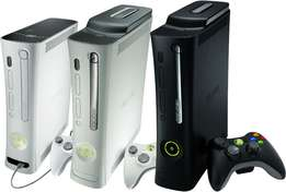 Various Xbox consoles available