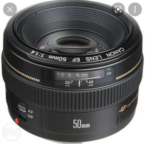 50 mm1.4 for canon