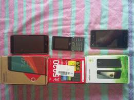 3 cellphones for sale