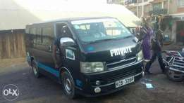 Toyota hiace 7L gasoline (petrol) engine is a it's a 2007 model