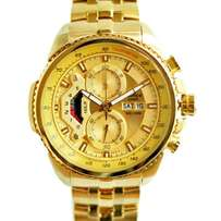 Casio Edifice 558 Full Gold
