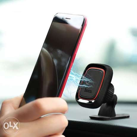 magnetic vehicle cell phone holder universal dashboard sticky pad.