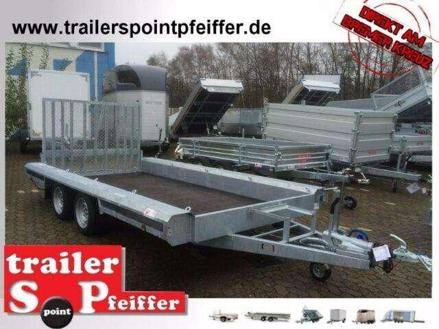 Baumaschinentransporter 400 X 180 3500 Kg Rampe