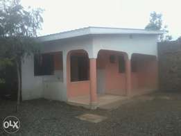 Vacant 3bedroomed master en suit own Compound bungalow to let in Thika
