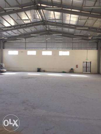 Brand New Spacious Store and Labor Camp for Rent in Industrial area