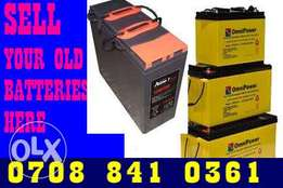 Scrap Battery buyers in Lagos Nigeria