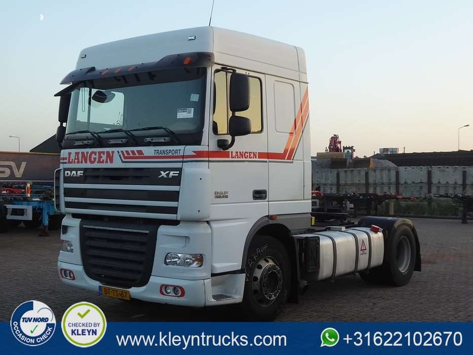 DAF XF 105.410 spacecab e5 manual - 2008