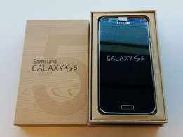 samsung galaxy s5 black box packed