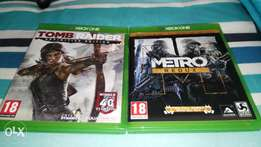 Two games on Xbox One brand New! x2 games for R500