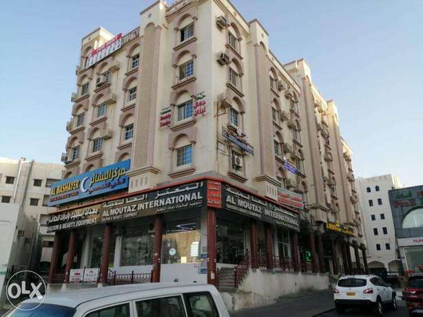 ALkhwair commercial area 1 bhk and 2 bhk