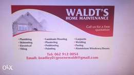 Waldts Home maintenance