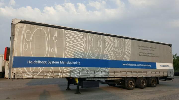 Schmitz Cargobull 4xMega,Varios, Lift, Hubdach,Code XL,TÜV 10/2019 - 2011