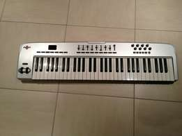 M-Audio Oxygen 61 USB Midi Keyboard & Controller - UK Used