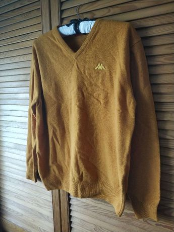 59) SWETER (Swetr) Kappa Romaldos Scollo Mustarde, bluza