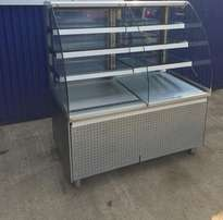 Open Fronted Fronted Patisserie Display Fridge Serve Over