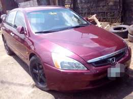 registered Honda Accord 2003 (end of discussion) for sale