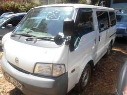 Nissan Vanette Van, KCK, auto, year 2010. Not used locally