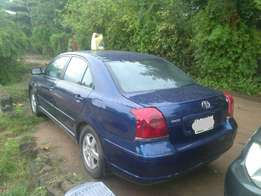 Clean Toyota Avensis 2004 Registered