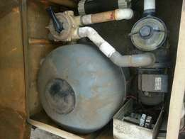 Complete swimming pool pump