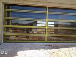 Aluminium windows, garage doors, gates, folding doors etc