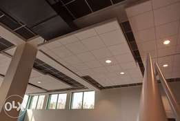 Acoustic ceilings installation