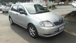 A Classic 2003 Toyota RunX 1.6i XS with electric Windows and aircon!