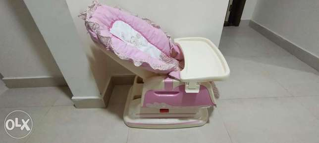 2 in 1 Baby rocker and Feeding chair